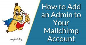 How to Add an Admin to Your Mailchimp Account (1)