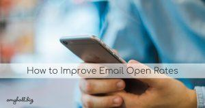 How to Improve Email Open Rates (1)