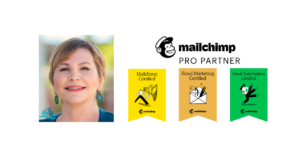 Amy Hall Certified Mailchimp Expert and Mailchimp Pro Partner